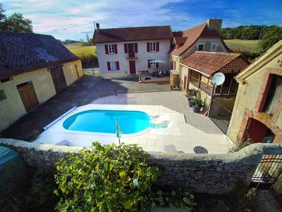Photo for Maison Lajus, a restored Farmhouse With Private Pool