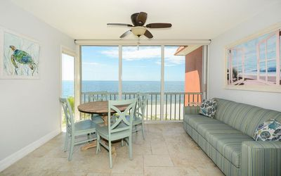 Photo for Magnificent unobstructed Gulf view! Plus boat docks and WiFi