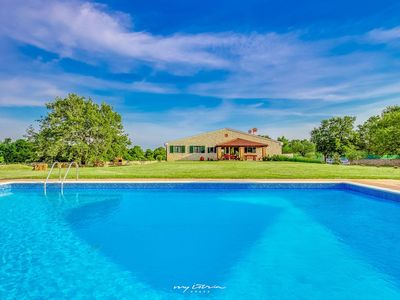 Photo for Family stone Villa with private pool in Rovinj