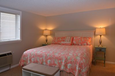 Master Bedroom w/ King Bed and Private Bathroom