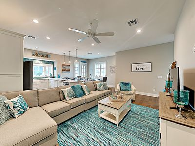 Photo for New Listing! Third Coast Charm: Spacious Townhome Near Beach w/ Golf & Pool