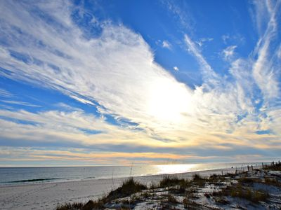 Photo for New Rental! Amazing price on this Gulf Front Summer Spot