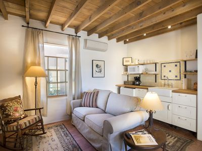 Photo for Totally refurbished adobe cottage in the heart of Santa Fe