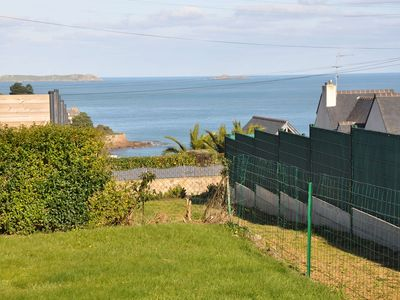 Photo for House sea view 900m walk from the large beach of Trestraou in PERROS-GUIREC