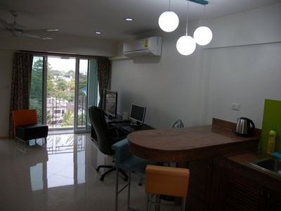 Photo for Old town Chiang Mai suite, modern furnishing (6 floor)