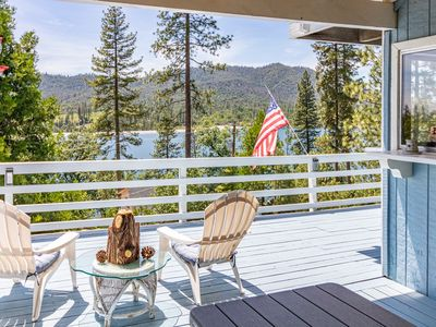 Photo for Large Bass Lake Home with Amazing Views and Boat Slip!