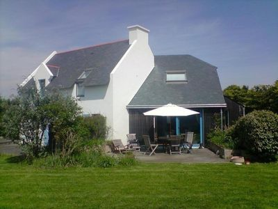 Photo for Authentic and modern house just steps from the old fisherman's village at ste barbe