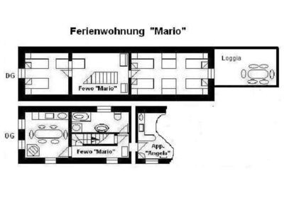 Photo for Apartment OM 3 = Mario - House OM for 1-19 persons, 23km to FFM-Nord