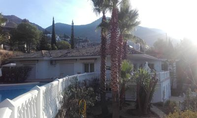 Photo for 3 apartments for rent in a villa with a fantastic garden and sea views