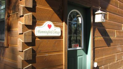 Photo for Hummingbird cabin@Rocky Mt Retreat.sleeps 4      1 of 4  cabins to choose