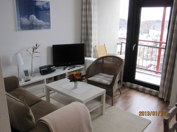 Comfortable apartment sea view swimming pool + sauna in the house Ferienpark Strandnah
