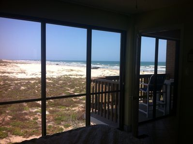 Floor to Ceiling views of Beach and Dunes