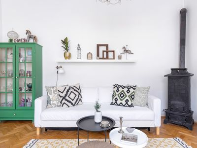 Photo for Beautifully furnished and decorated flat in downtown Budapest