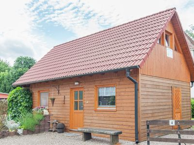 Photo for Cosy wooden cottage in Ilmkreis, right in the middle of the Thuringian Forest