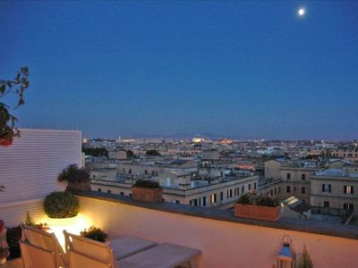 Photo for Luxury 10thfloor Penthouse Stunning View Over Rome. Big Terrace