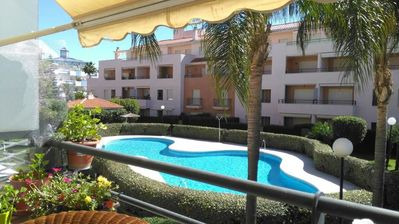 Photo for Apartment With 3 Bedrooms in Rota, With Pool Access and Furnished Terr