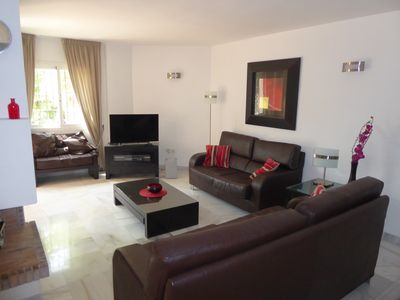 Photo for Luxury Holiday Home with Shared Pool, in Puerto Banus, Los Naranjos De M