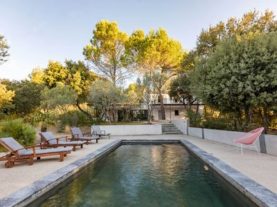 Photo for Beautiful contemporary family home surrounded by vineyards and olive groves