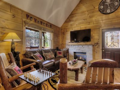 Photo for Amazing honeymoon cabin! Just Listed!5 min to Parkway