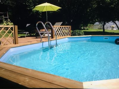 Photo for Traditional Farm House with private pool in a tranquil setting. Sleeps 4/6 WiFi
