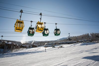 Location - Snowmass is a prime destination for snowshoeing and skiing.