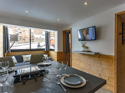 Photo for Vanoise Val Thorens 4 persons 26 m2 ski in ski out