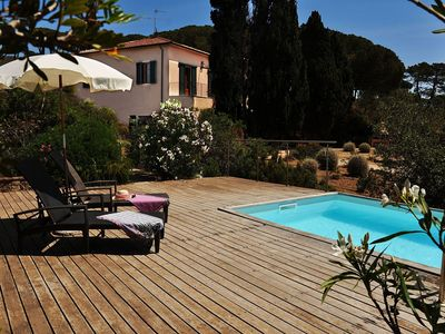 Photo for Stunning private villa for 12 guests with private pool, TV, balcony, pets allowed and parking