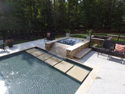 Photo for Perfect Secluded Masters Rental Home with Resort-Style Pool