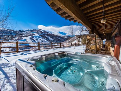 Photo for DreamRidge at Deer Crest | Funicular-to-Slopes Access | Private Hot Tub | Concierge Services