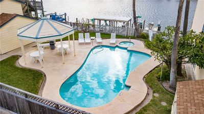 Photo for Anchors Away-On the CANAL! Boat Slip! POOL & HOT TUB!
