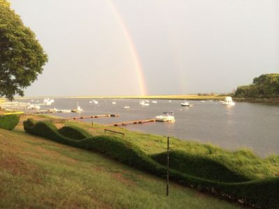 Photo for Parker River waterfront Cottage on a tidal river in Newbury close to Plum Island