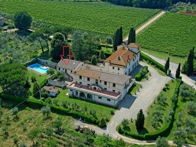 Photo for Dependance with swimming pool in Chianti