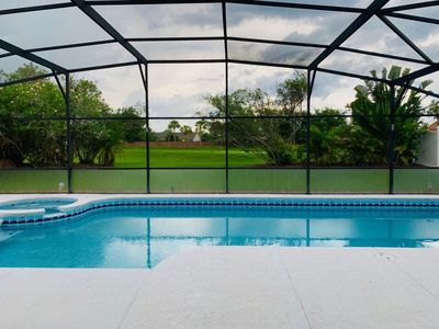 Photo for Super Private Large Pool Home in Crescent Lakes
