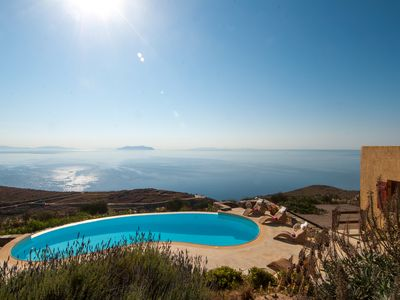 Photo for Villa Als Marmarei, soul relaxing infinity.