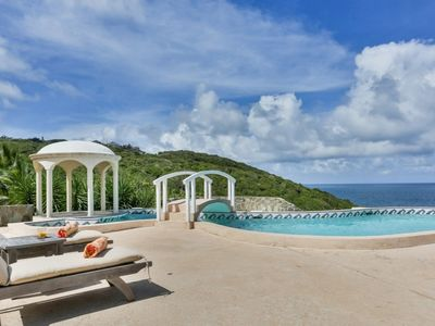 Photo for *Please Enquire - Stunning 4 bedroom villa in Cap Estate with amazing views