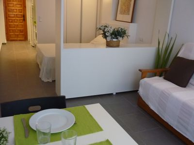 Photo for Very central studio apartment in front of the beach and Paseo Maritimo Peñiscola