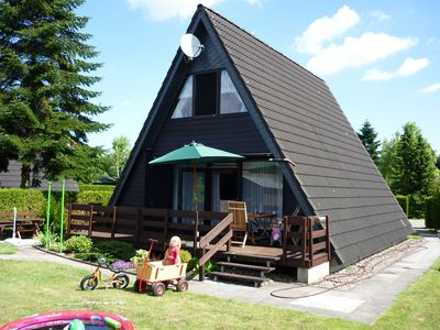 Photo for Detached Roof house with terrace and garden in a holiday park