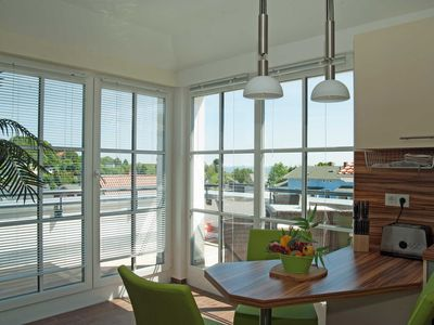 Photo for Apartment SEA VIEW with view to the Baltic Sea - Penthouse SEA VIEW in Göhren in the Villa Antje