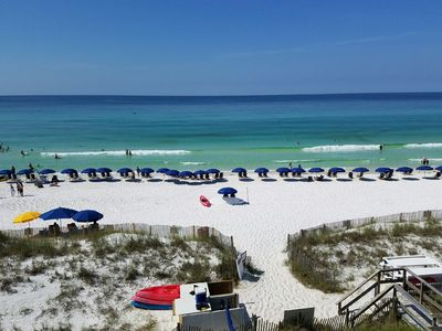 Photo for Time for Summer!  Beach-front w/Complimentary Beach Service!