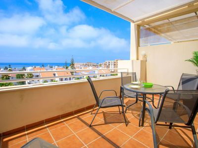 Photo for Nice apartment for 4 people with pool, A/C, WIFI, TV and parking