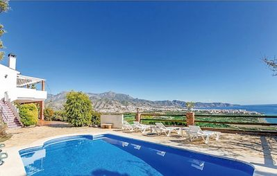 Photo for Nerja: Charming villa with the best panoramic views of the whole Nerja