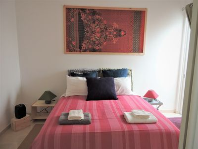 Photo for Bouganville Flowers - Lilla Bedroom (Rent Room)