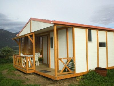 Photo for Camping Tikiti *** - Chalet 3 Rooms 5 Persons