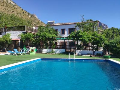 "Photo for Cottage ""La Casita del Campo"", private pool, 5000m2 Mediterranean garden with lots of fruit trees, cer"