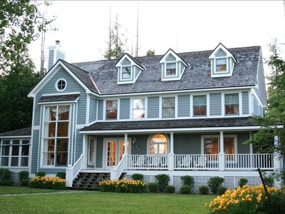 Photo for Beautiful Home on Lake Charlevoix-Prime August Week Just Opened Up!