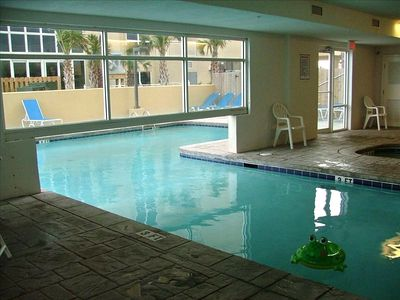 Indoor / Outdoor pool & hot tubs (there is also an exercise room and steam room)