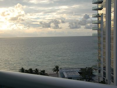 Photo for LUXURIOUS APARTMENT DIRECTLY ON THE SEAFRONTAT Hollywood Beach