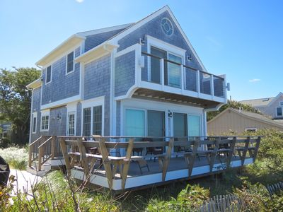 Photo for Custom Beach House Directly on the Water: 016-B