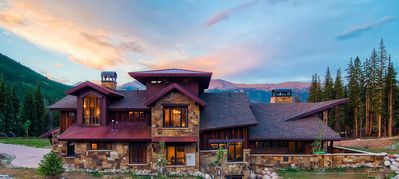 Photo for Pinnacle Lodge-6 BR-True Slopeside Ski-in/Out!