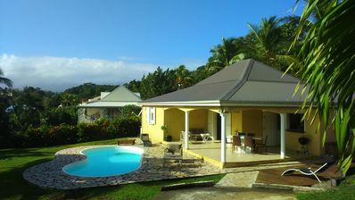 Photo for Charming & Quiet 3 Bedroom Villa Air Conditioned + Private Pool